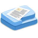 paper, document, File SteelBlue icon