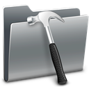 Developer, Folder Gray icon