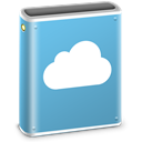 Folder, mobileme, idisk CornflowerBlue icon