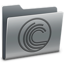 Folder, torrent Gray icon