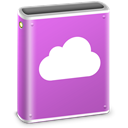 pink, Folder, mobileme, idisk MediumOrchid icon