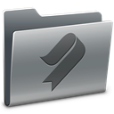 bookmark, Folder Gray icon