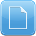 paper, document, File CornflowerBlue icon