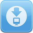 downloadsfolder CornflowerBlue icon