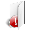Folder, private Black icon