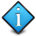 Information, regular, toolbar, Get, about, Info Black icon