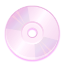 Disk, disc, save, Cd LavenderBlush icon