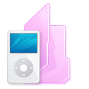 Folder, ipod Black icon