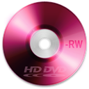 Dvd, Hd, disc, Rw Black icon