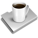 Coffee, food Black icon