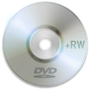 Dvd, Rw, disc DarkGray icon