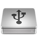 Usb, Aluport DarkGray icon