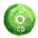 Cd, Disk, save, disc YellowGreen icon