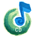 Cd, Audio, disc, save, Disk Black icon