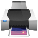 printer, Fax, Print DarkSlateGray icon