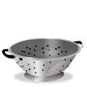 Cook, colander Black icon