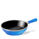 Cook, Pan Black icon