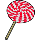 Lollipop Black icon