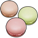 macaroon Black icon