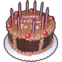 birthcake Black icon