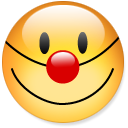 Emoticon, smile, funny, Fun, happy, Emotion Khaki icon