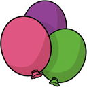 Balloon PaleVioletRed icon