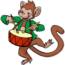 monkey Black icon