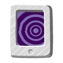 vortex, File, document, paper Indigo icon