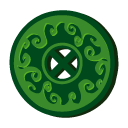magic, disc, Disk, save, grass Icon