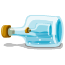 In, Bottle, Iphoto LightBlue icon