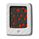 File, paper, lava, document DarkSlateGray icon