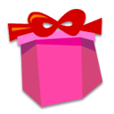 present, gift DeepPink icon