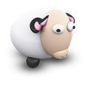 sheepporcelaine, mac Black icon