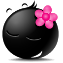 user, people, Account, Face, Human, Girl, Emoticon, person, Child, profile, kid, Avatar, Emotion Black icon