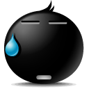 say, Emoticon, Face, Avatar, Nothing, Emotion Black icon