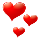 love, Emotion, Avatar, red, Heart, valentine, Emoticon, Face Red icon
