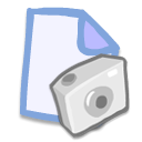 photo, picture, document, pic, File, image, paper AliceBlue icon