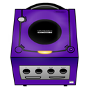 Gamecube, purple Indigo icon