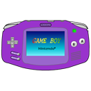 purple, Advance, Gameboy DarkOrchid icon