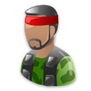 Counter strike, Cartoon, Cs Black icon