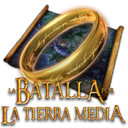 batalla, tierra, por, media Black icon