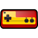 Computer, Game, gaming, Classic, Family, player, nintendo Black icon