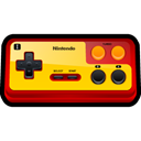 player, Family, Computer, Game, nintendo, gaming Black icon