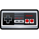 Game, n, gaming, nintendo Black icon