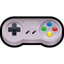 Game, gaming, nintendo, Sn Black icon