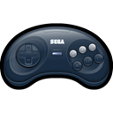 Mega, Game, gaming, drive, Sega DarkSlateGray icon