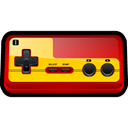player, Family, Computer, gaming, Game, nintendo, Classic Black icon