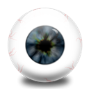 oeil Black icon