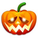 halloween, pumpkin, Shame Icon