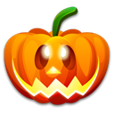 Fun, halloween, Emotion, funny, pumpkin, Emoticon, smile, happy Black icon